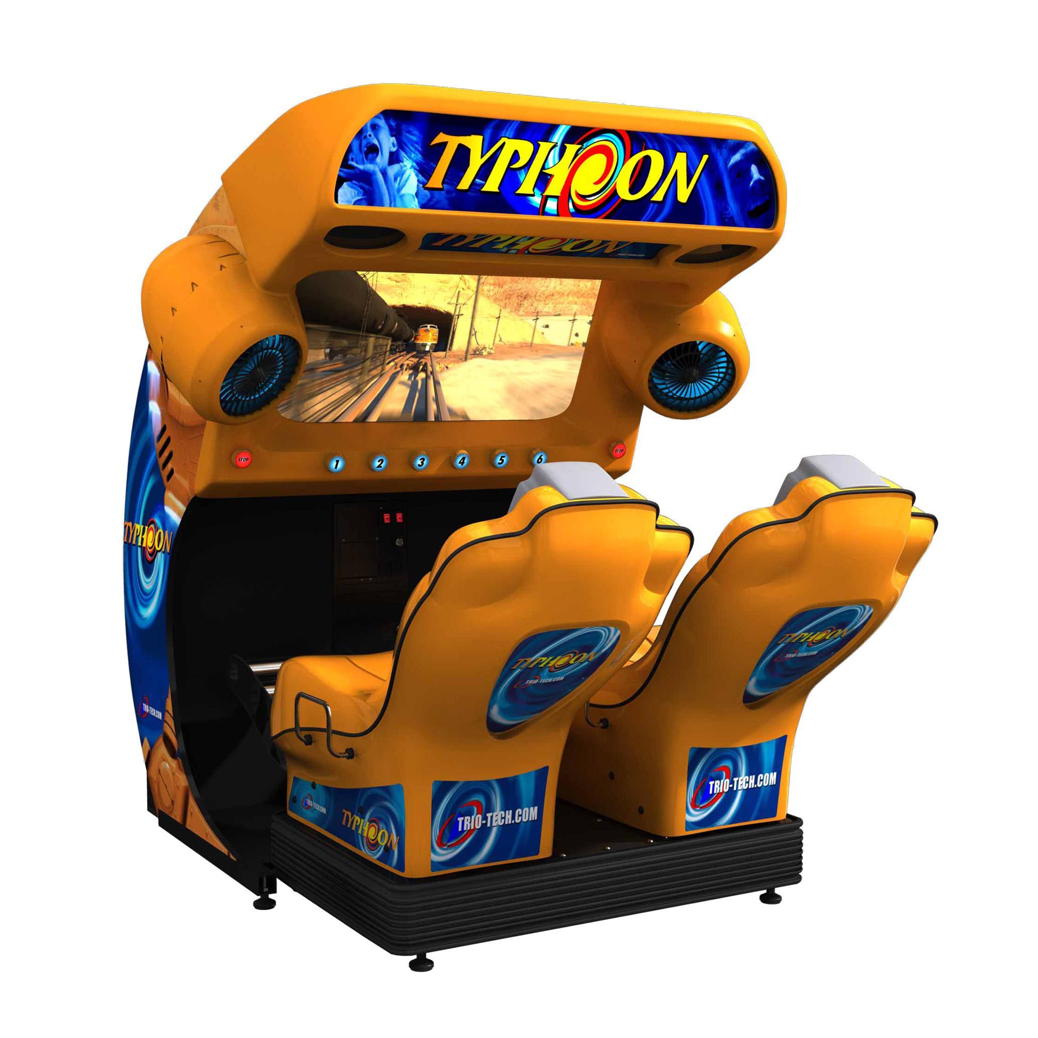 Typhoon video simulator game