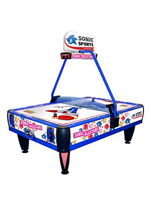sonic sports air hockey